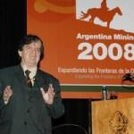 Orador Eduardo Chaparro, CEPAL